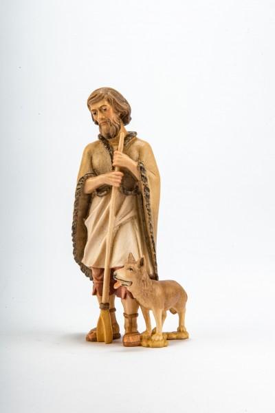 Schäferhirte mit Hund