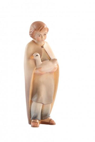 Junge mit Ente