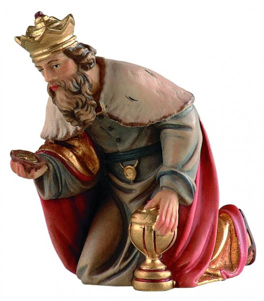 König kniend