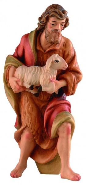 Hirt mit Lamm